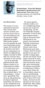 Reformatorisch Dagblad 28 dec 12